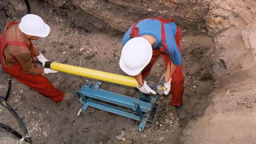 Подготовка оборудования к бестраншейной укладке