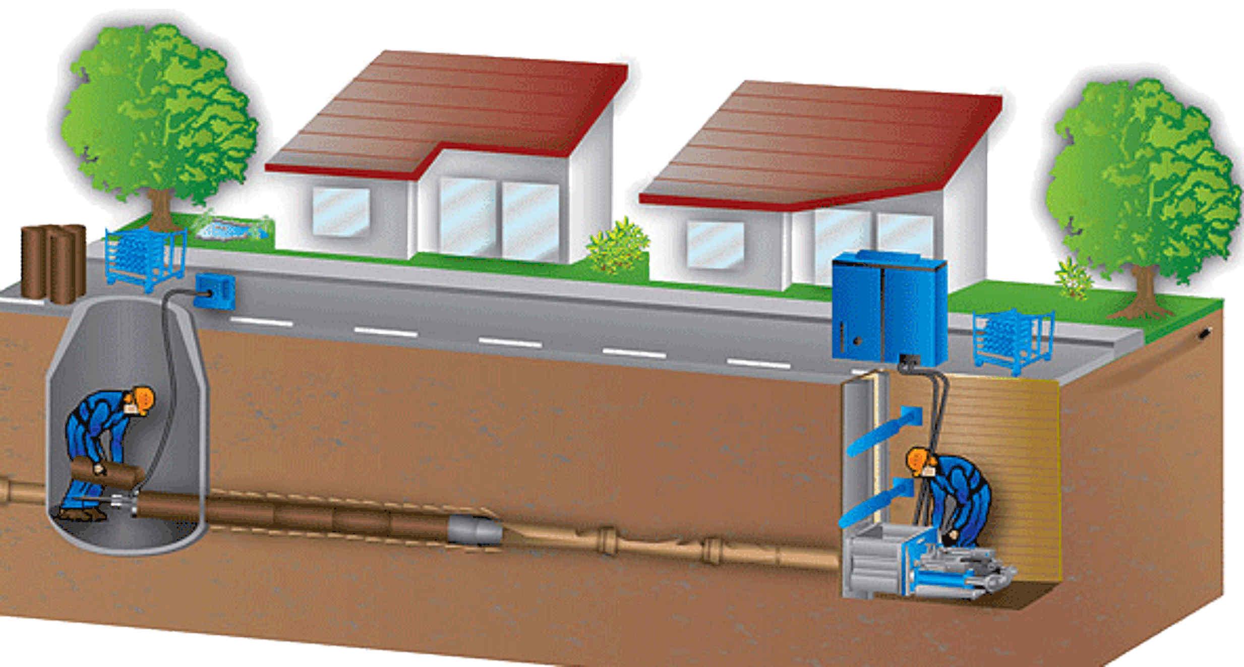 Можем провести работы по санации под любым объектом: ж\д дорогой, автодорогой и под речкой
